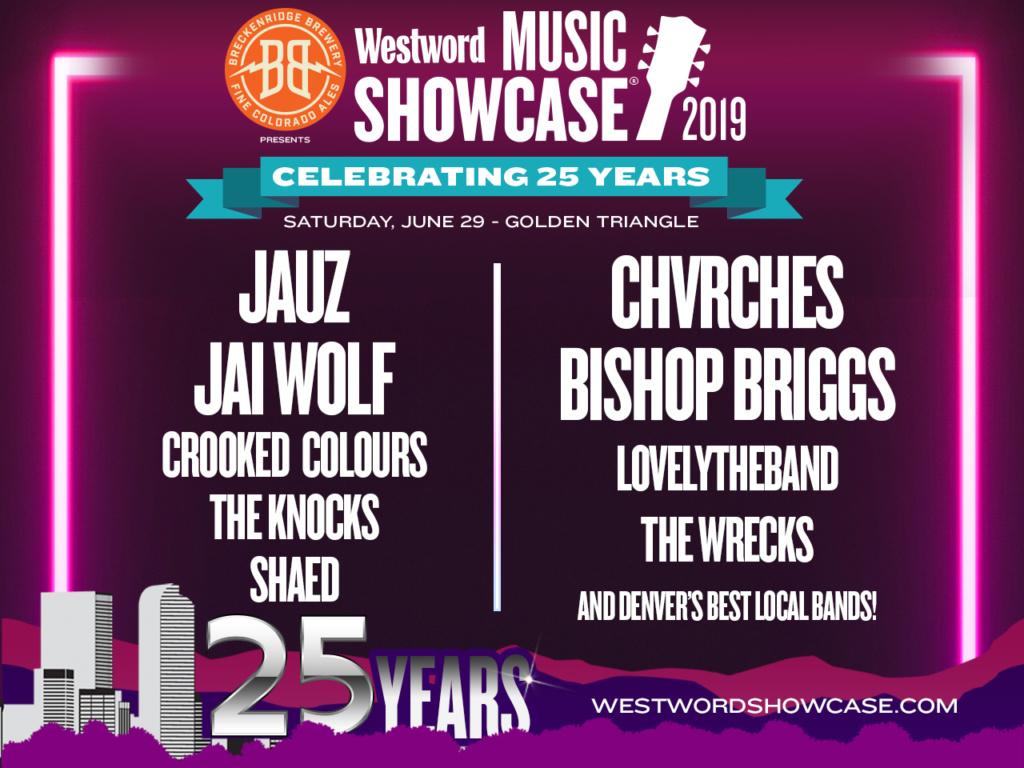 25th Westword Music Showcase