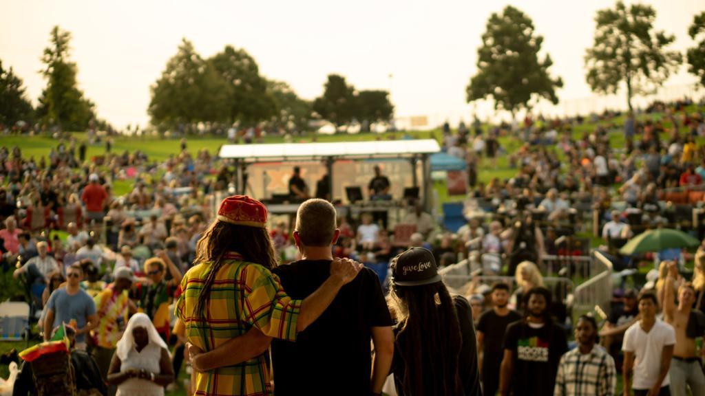 Levitt Pavilion Reggae on The Grass
